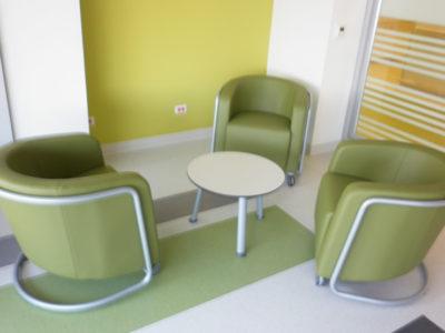 Áreas de espera: Sector Salud 1