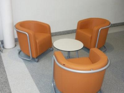 Áreas de espera: Sector Salud 2
