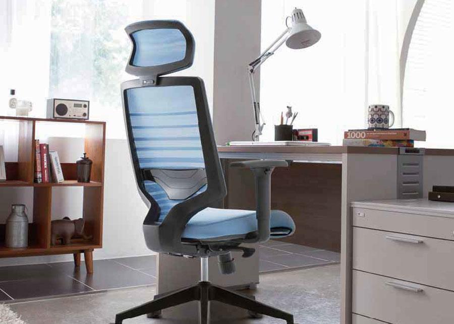 Dolor de espalda al vialo con una silla ergon mica fursys for Sillas de oficina para problemas de espalda